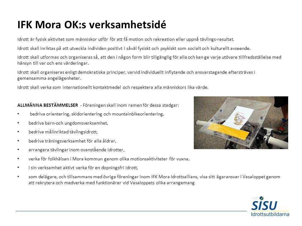 IFK Mora OK:s verksamhetsidé