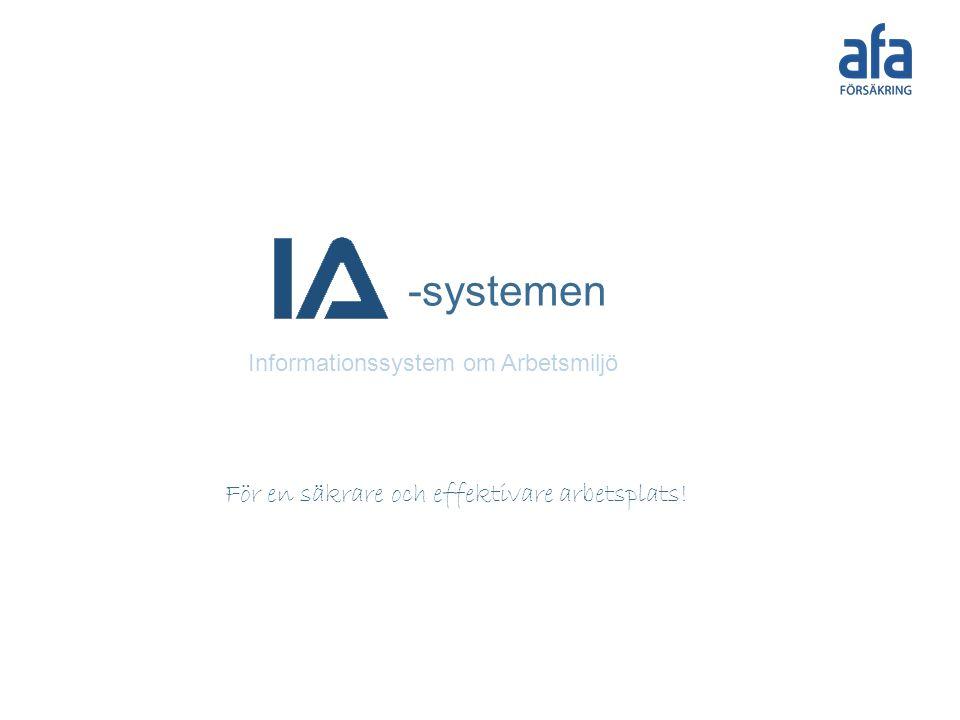 -systemen För en säkrare och effektivare arbetsplats!