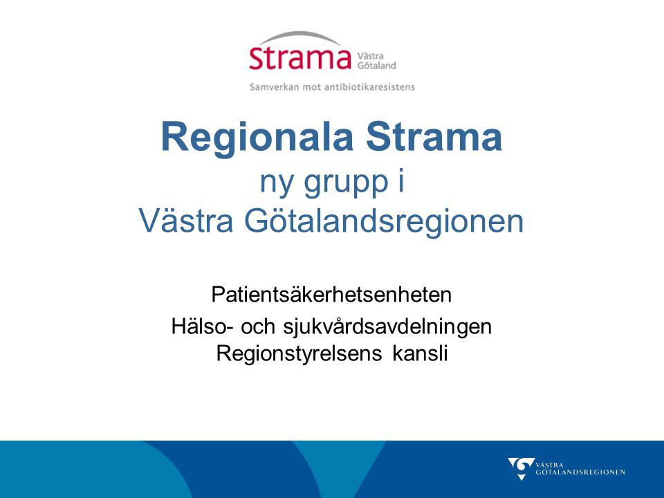 Regionala Strama ny grupp i Västra Götalandsregionen
