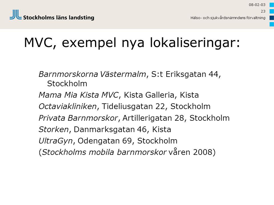 MVC, exempel nya lokaliseringar: