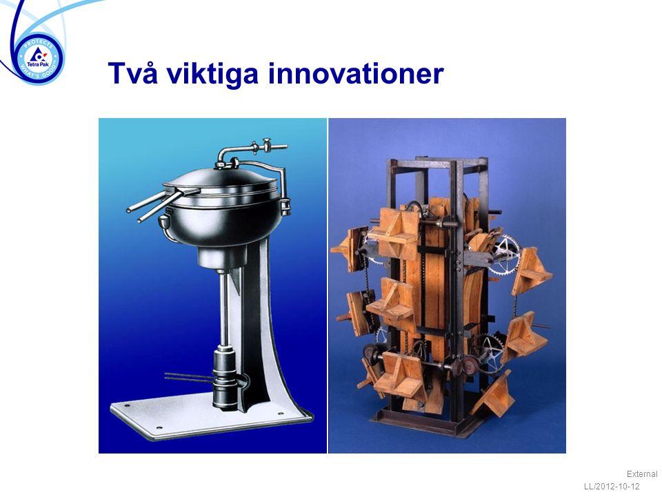 Två viktiga innovationer