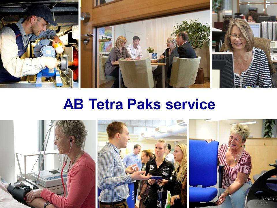 AB Tetra Paks service External LL/2012-10-12