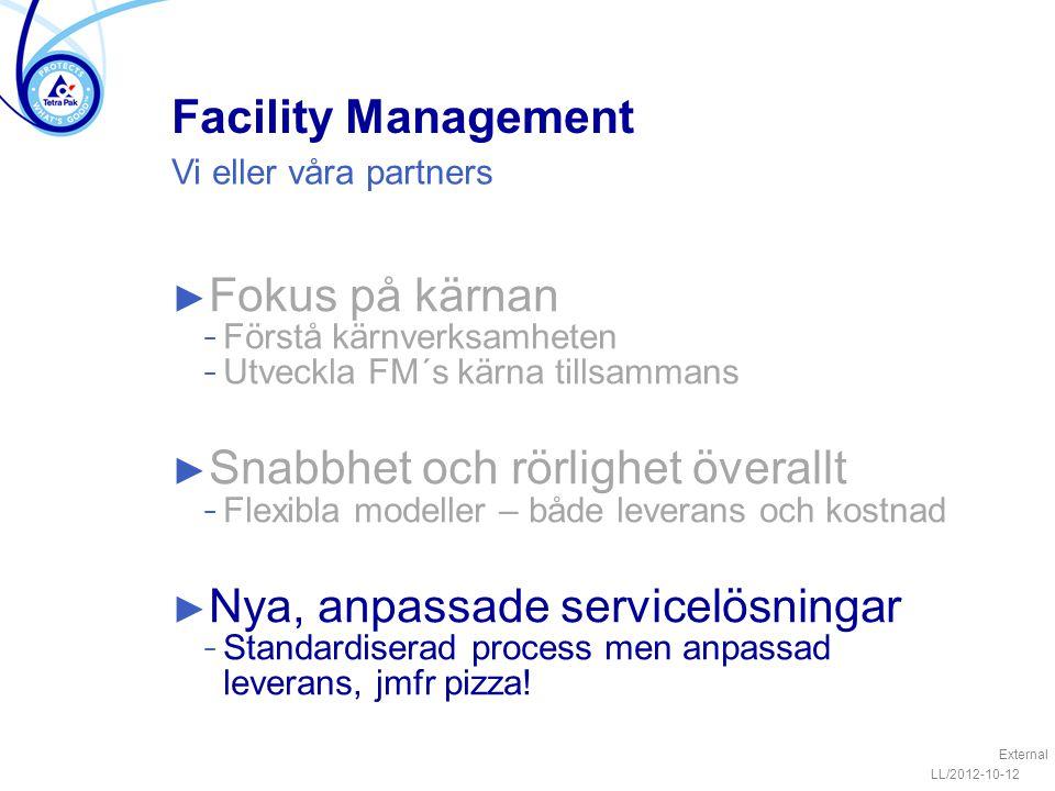 Snabbhet och rörlighet överallt Nya, anpassade servicelösningar