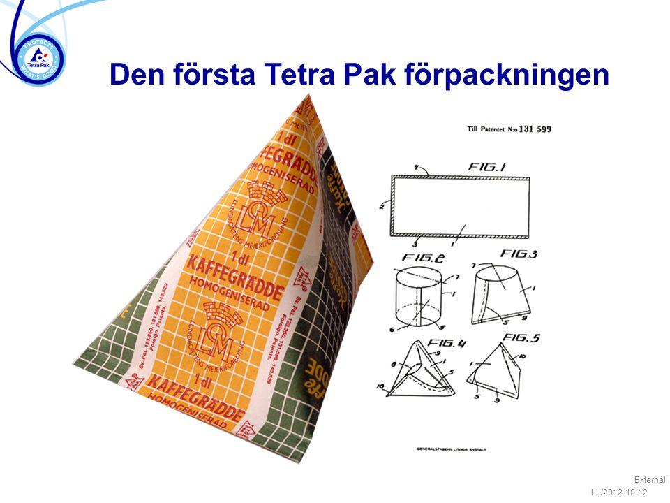 Den första Tetra Pak förpackningen