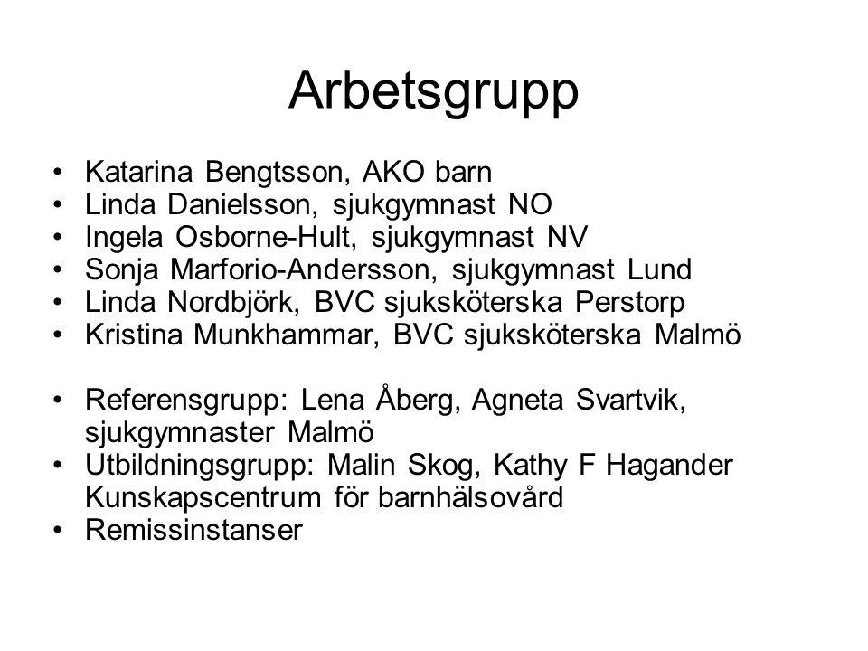 Arbetsgrupp Katarina Bengtsson, AKO barn