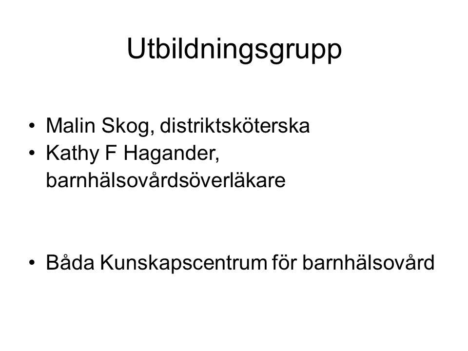 Utbildningsgrupp Malin Skog, distriktsköterska
