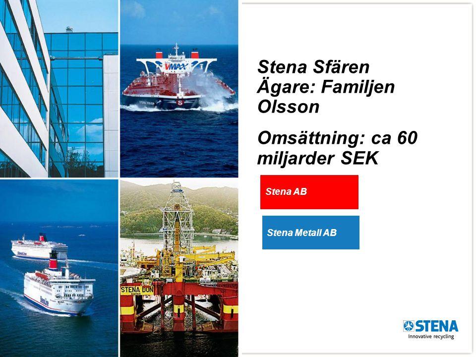 Stena Sfären Ägare: Familjen Olsson