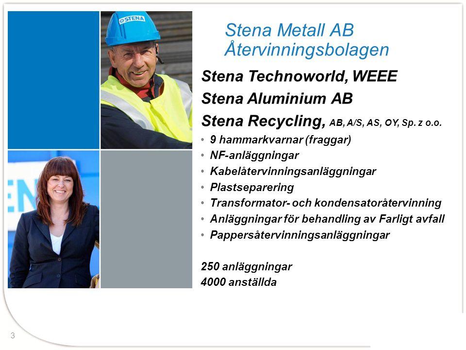 Stena Metall AB Återvinningsbolagen