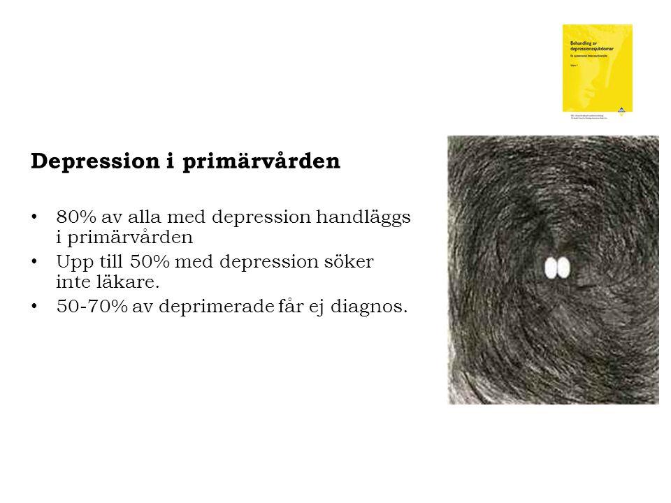 Depression i primärvården