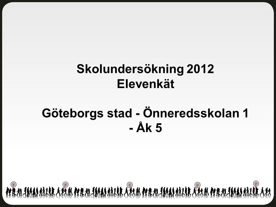 Göteborgs stad - Önneredsskolan 1 - Åk 5