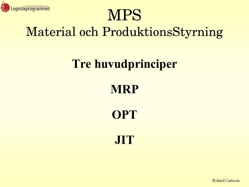MPS Material och ProduktionsStyrning