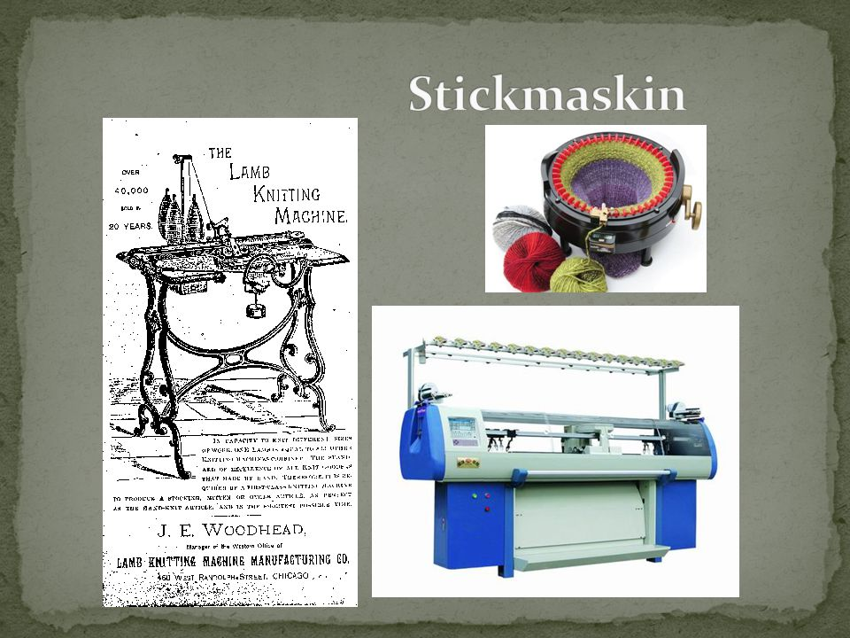 Stickmaskin