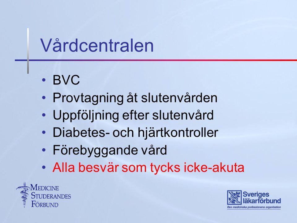 Vårdcentralen BVC Provtagning åt slutenvården