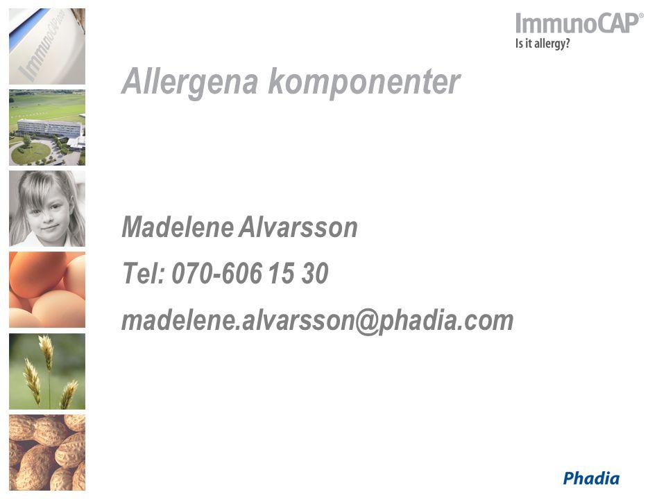 Allergena komponenter
