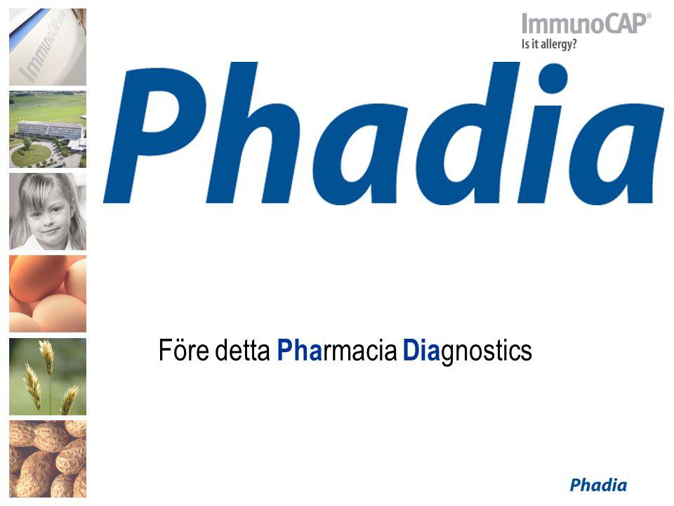Före detta Pharmacia Diagnostics