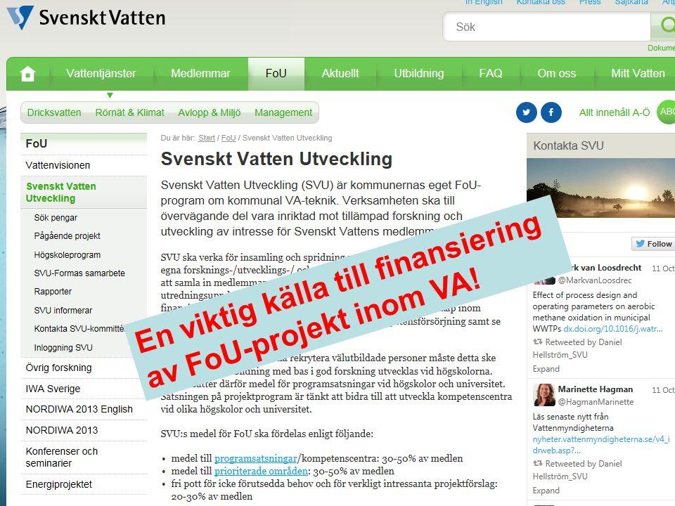 Följ Svenskt Vattens kursutbud på www.svensktvatten.se