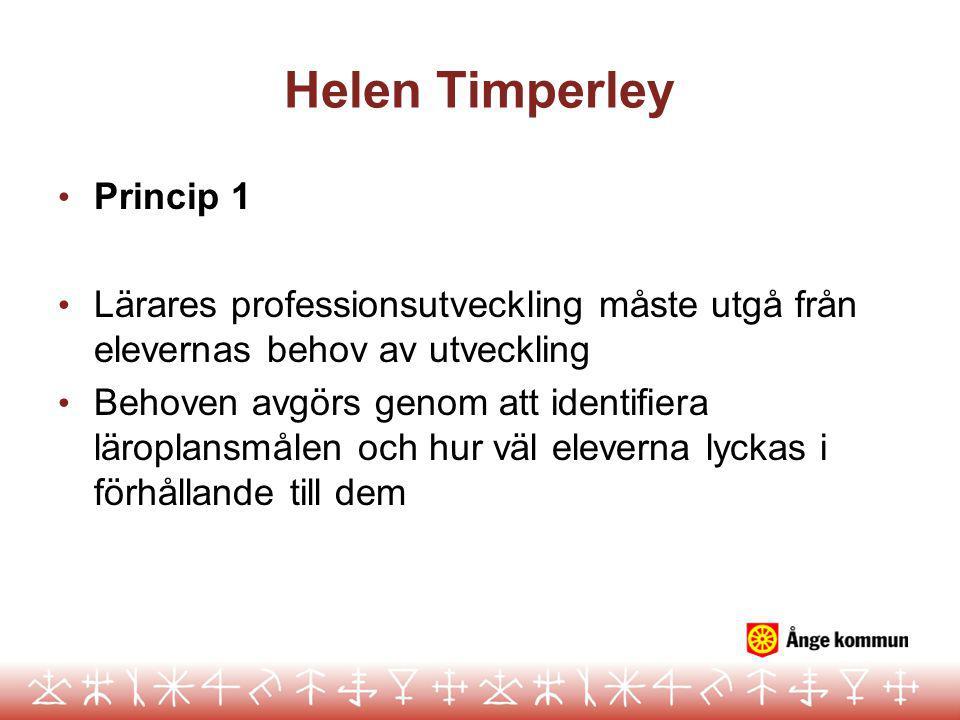 Helen Timperley Princip 1