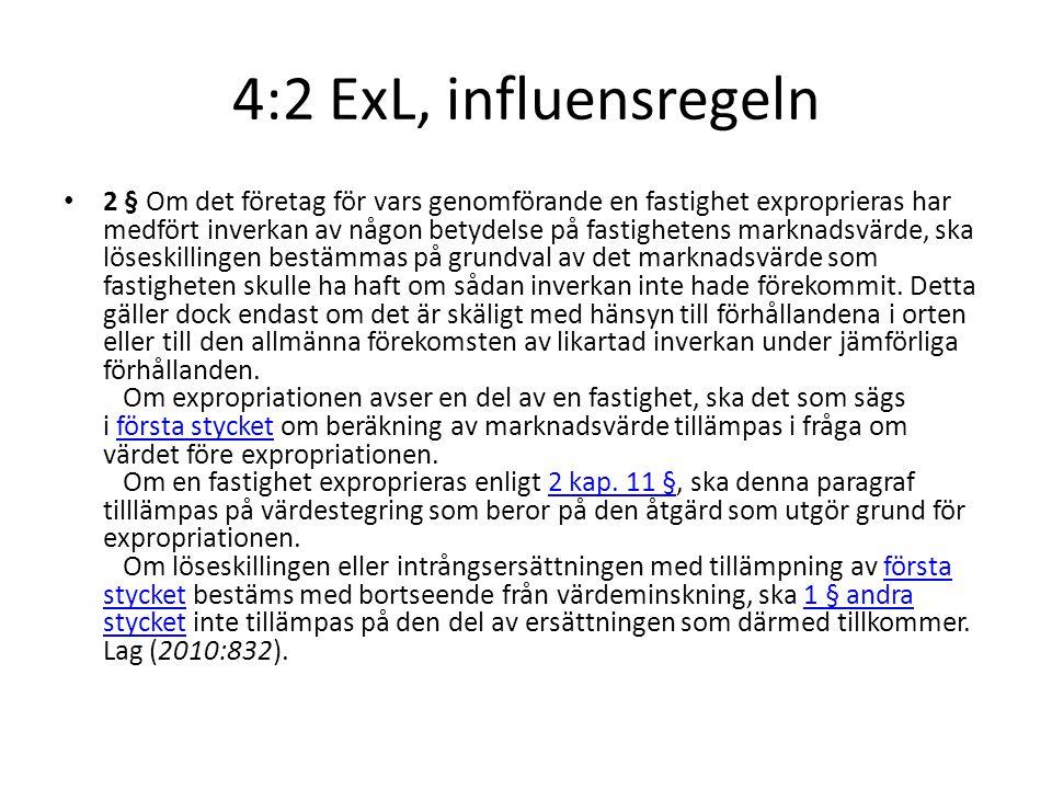4:2 ExL, influensregeln