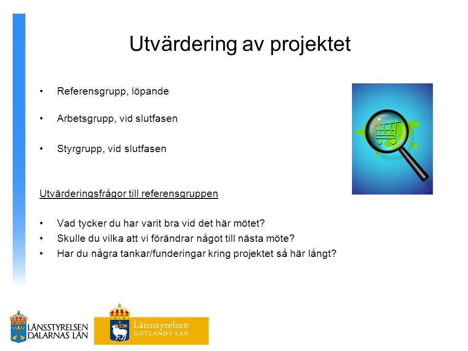 Utvärdering av projektet