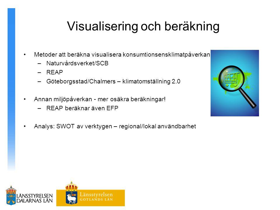 Visualisering och beräkning