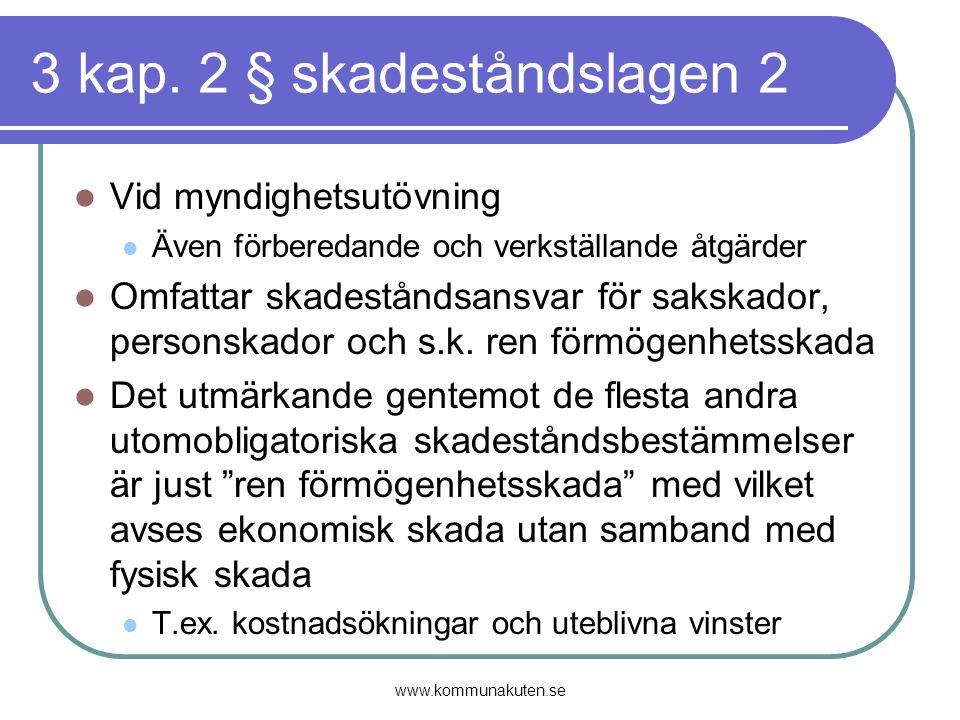3 kap. 2 § skadeståndslagen 2