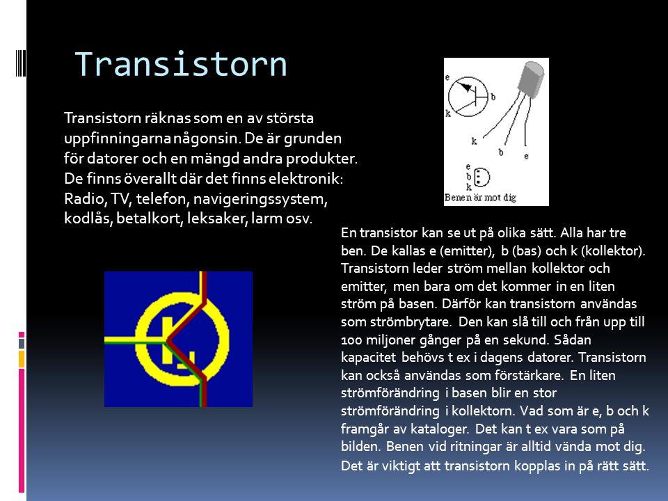 Transistorn
