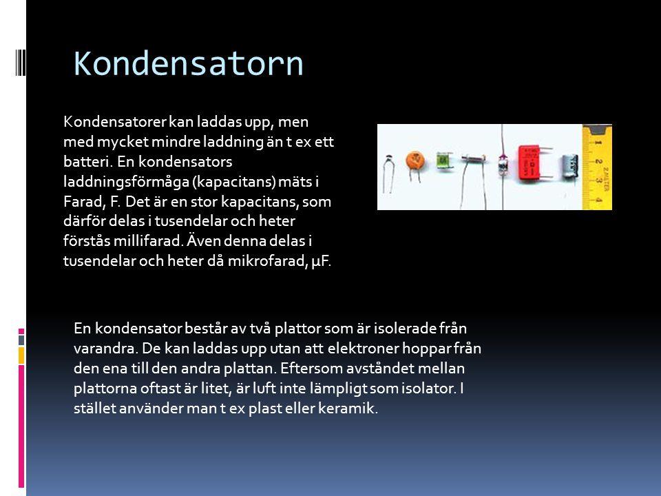 Kondensatorn