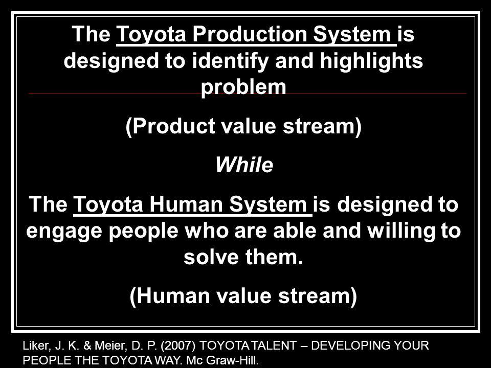 (Product value stream)