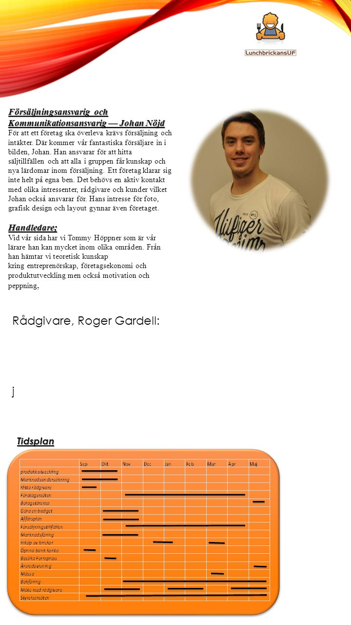 Rådgivare, Roger Gardell: