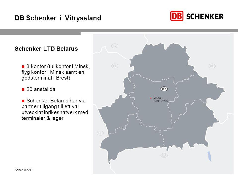 DB Schenker i Vitryssland