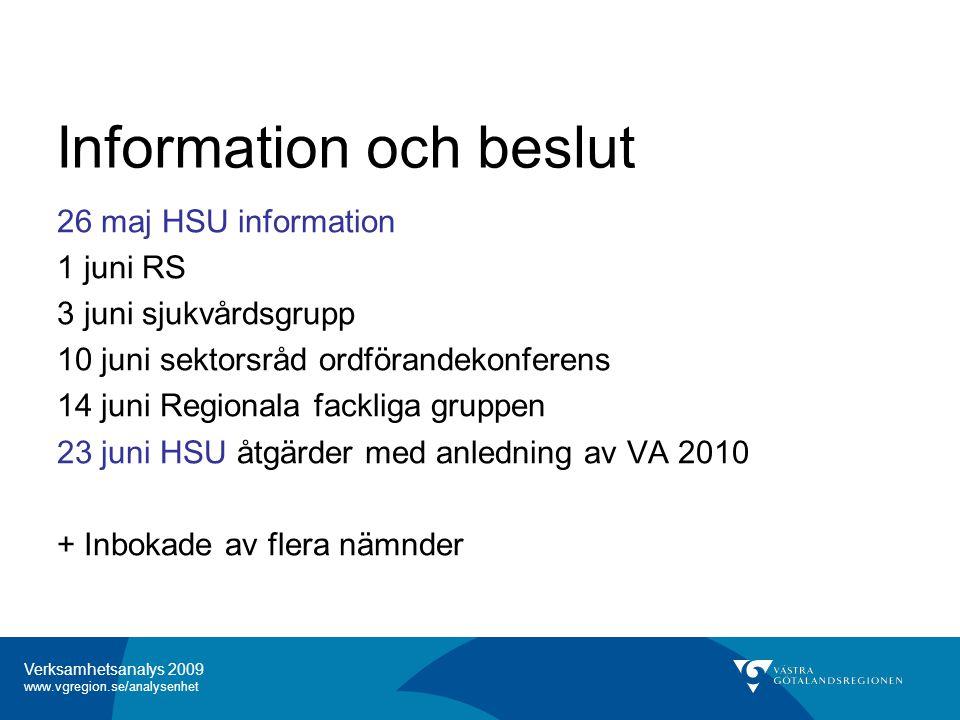 Information och beslut