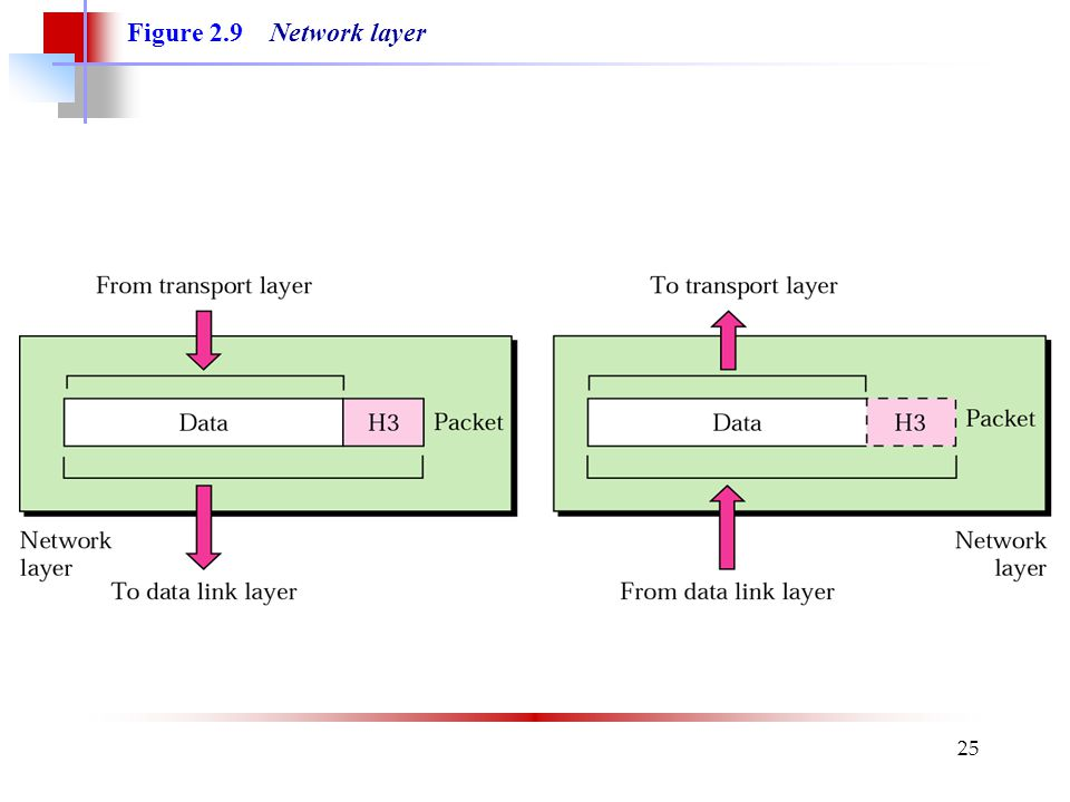Figure 2.9 Network layer