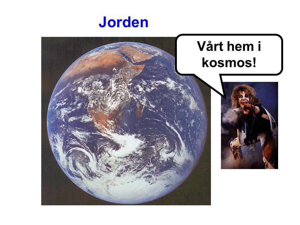 Jorden Vårt hem i kosmos!