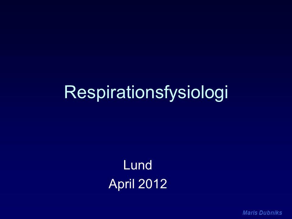 Respirationsfysiologi