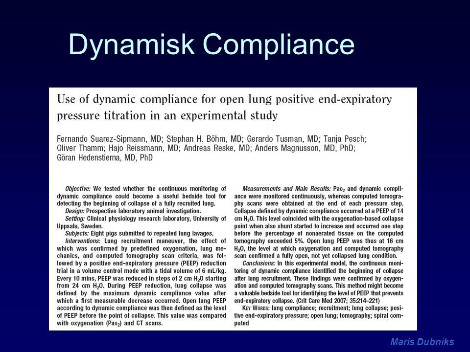 Dynamisk Compliance
