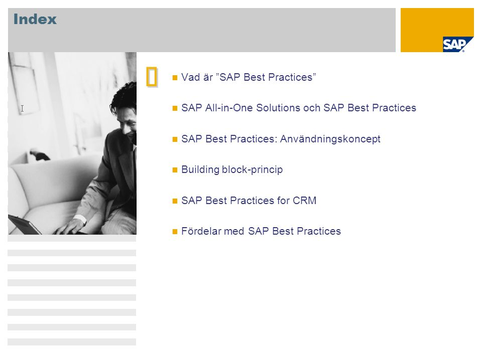 è Index Vad är SAP Best Practices