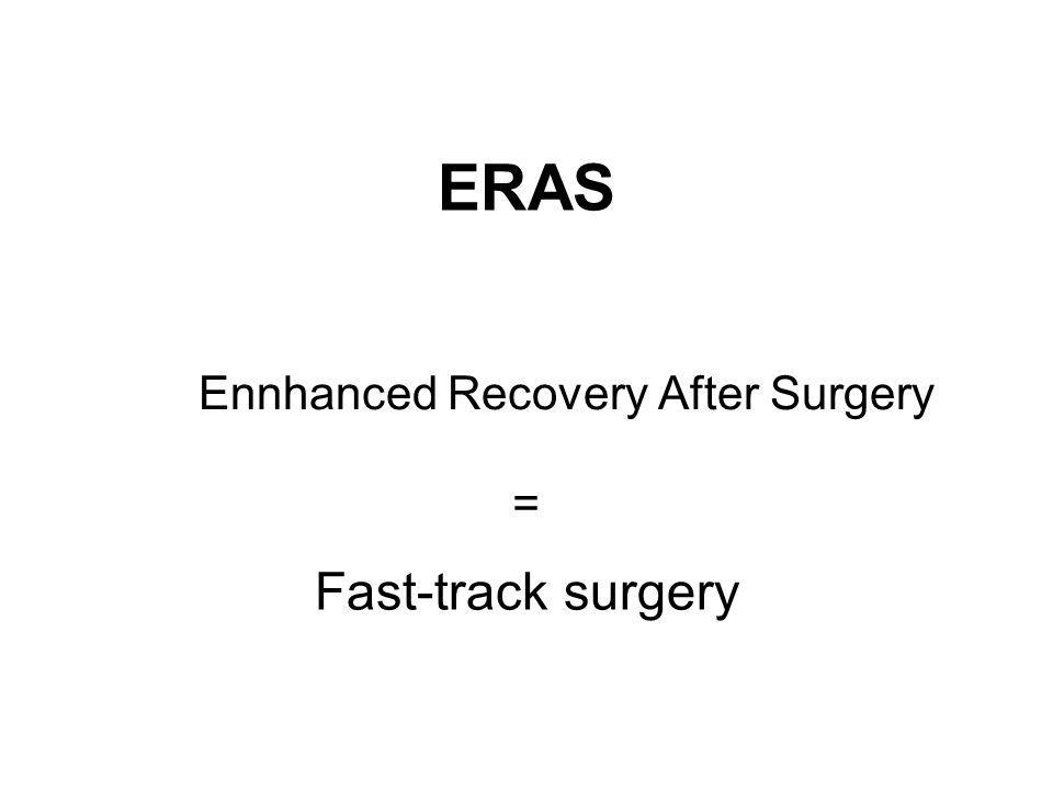 Ennhanced Recovery After Surgery
