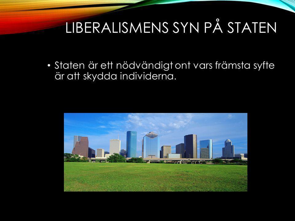 Liberalismens syn på staten
