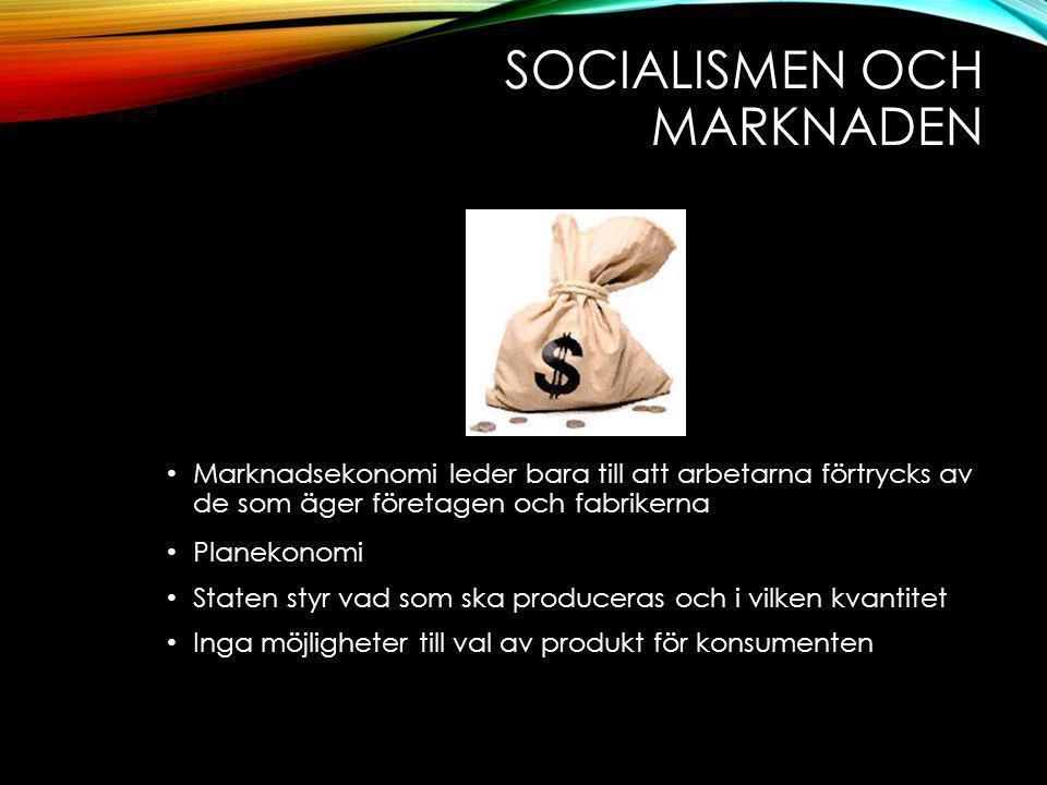 Socialismen och marknaden