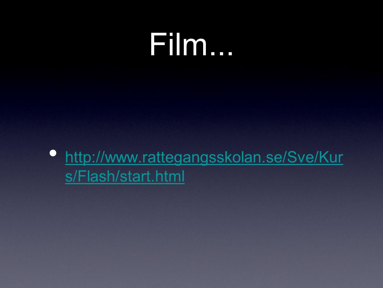 Film... http://www.rattegangsskolan.se/Sve/Kur s/Flash/start.html