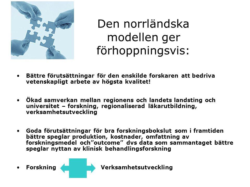 Den norrländska modellen ger förhoppningsvis: