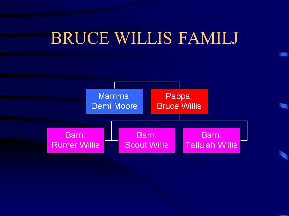 BRUCE WILLIS FAMILJ