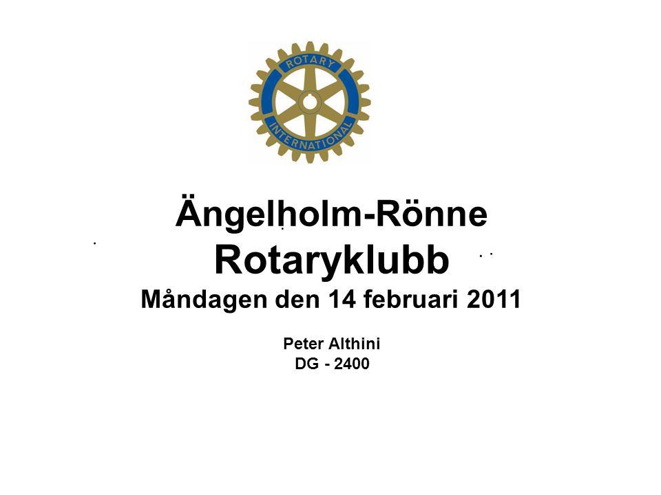 Rotaryklubb Ängelholm-Rönne Måndagen den 14 februari 2011