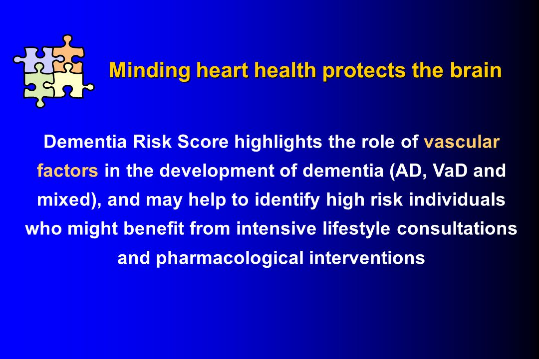 Minding heart health protects the brain