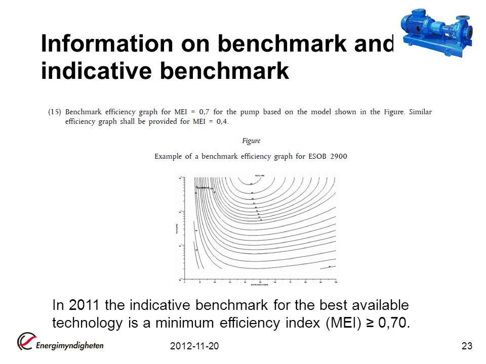 Information on benchmark and indicative benchmark