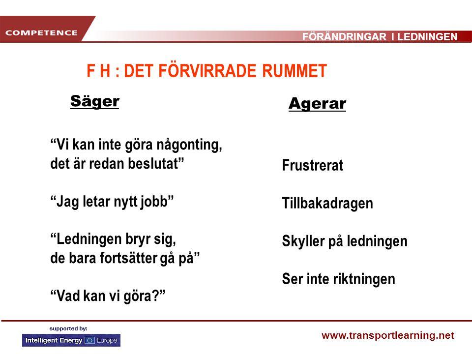 F H : DET FÖRVIRRADE RUMMET