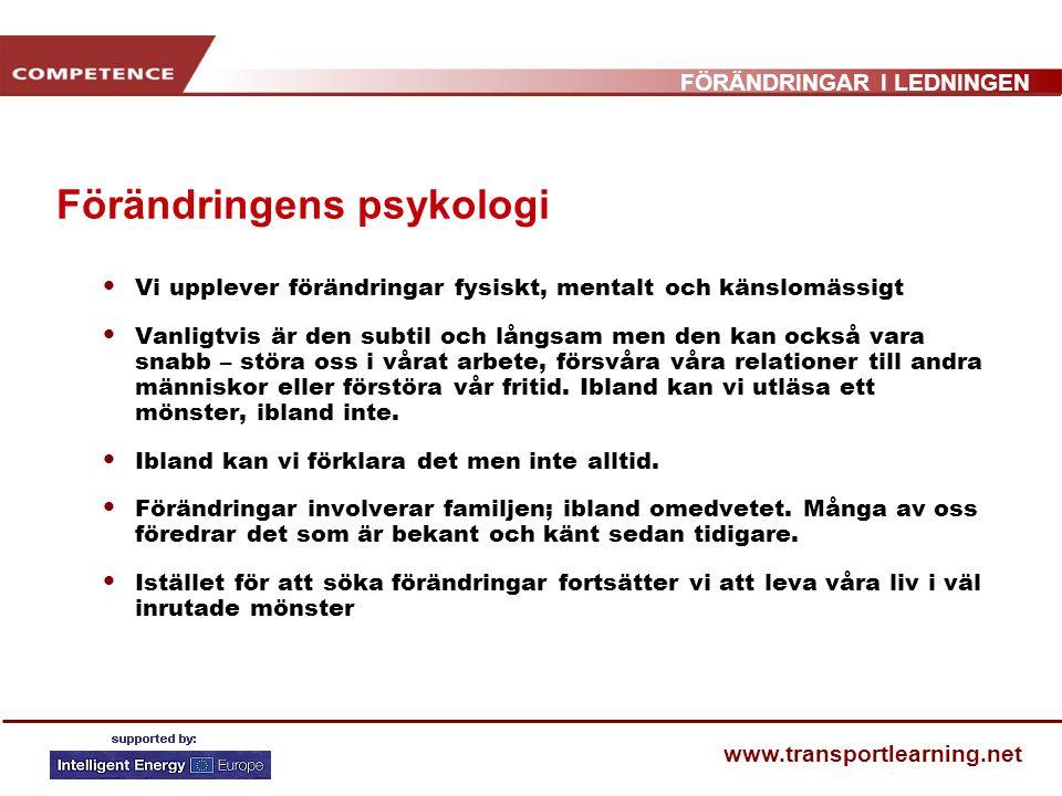 Förändringens psykologi
