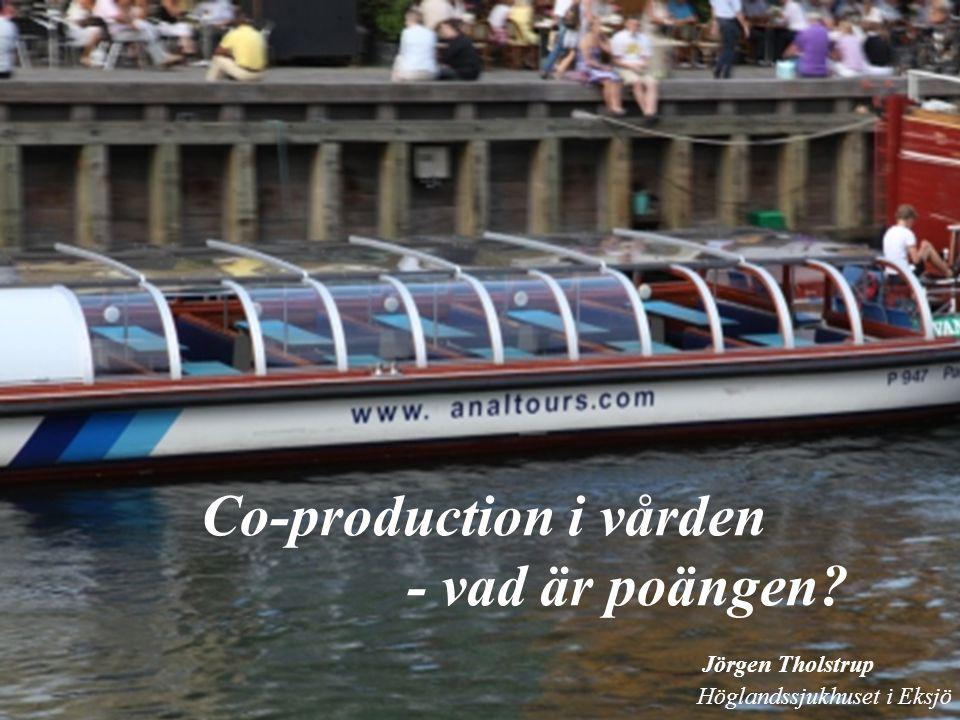 Co-production i vården