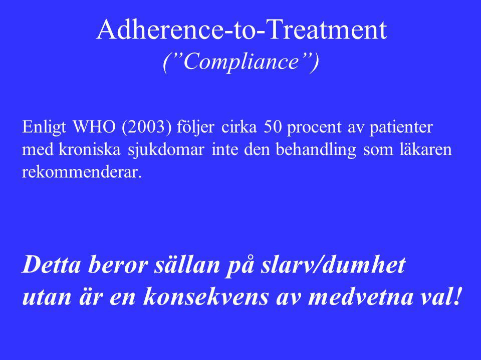 Adherence-to-Treatment ( Compliance )