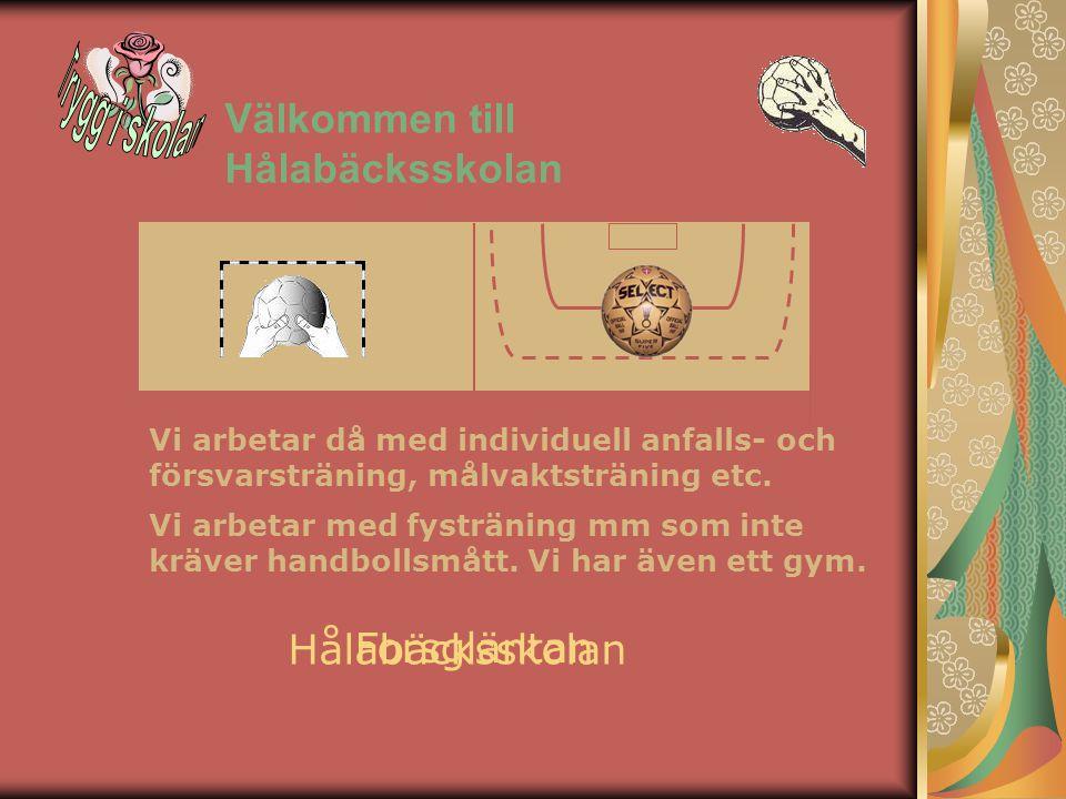 Trygg i skolan Välkommen till Hålabäcksskolan Hålabäcksskolan